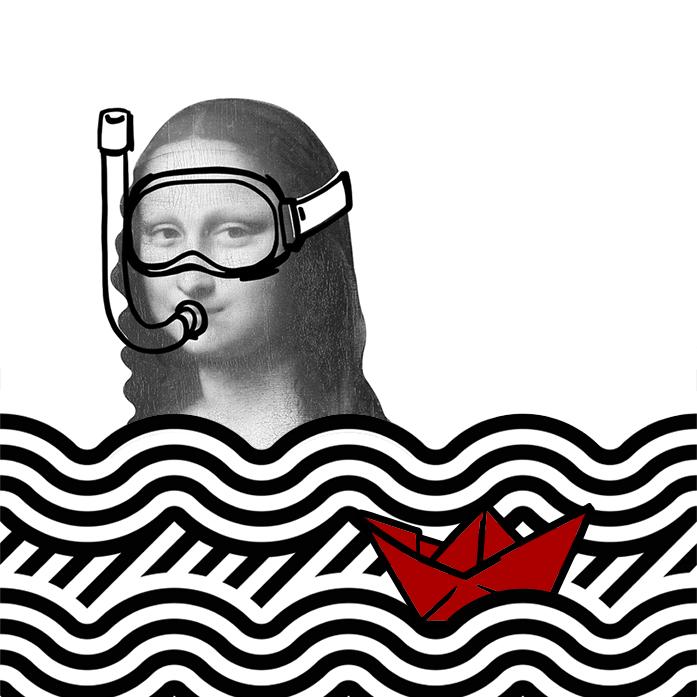 Gioc'onda iscrizioni